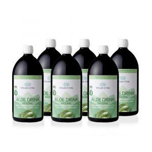 Aloe Drink Natural 6er Pack